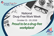 office proud to be a drug-free workplace